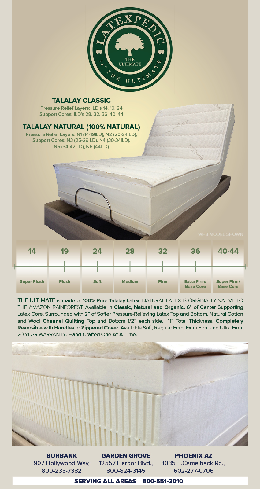 natural adjustable bed electric mattress Houston TX Organic Beds