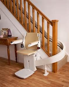 Houston TX Custom Curve Stair Chair Curved StairLifts chair lifts